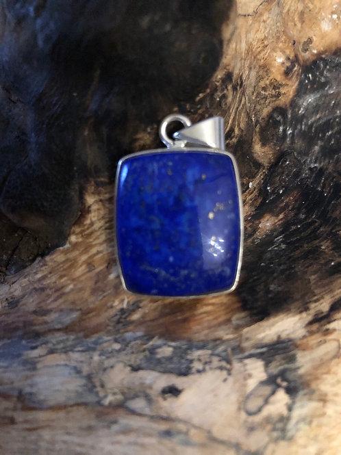 Pendentif en argent en lapis lazuli