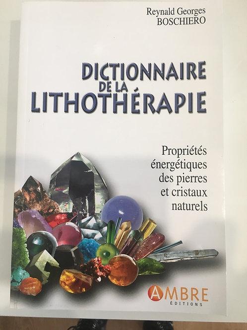 Dictionnaire de la lithothérapir