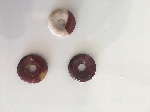 Donut jaspe mokaite