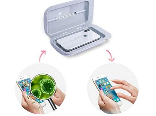 Mobile Phone Care Sterilizer, UV Light Sanitizer Box