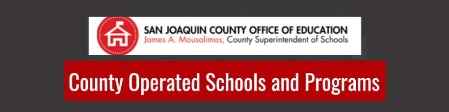 SJCOE-County Operated Schools and Programs