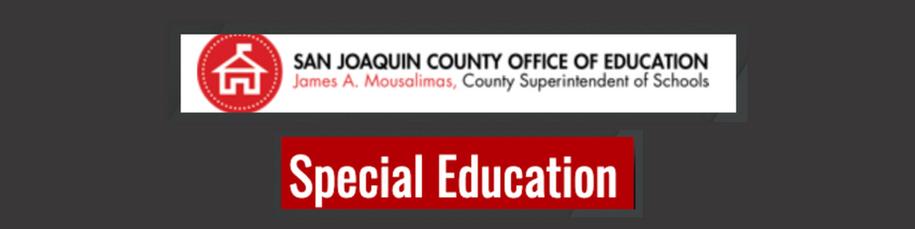 SJCOE- Special Education
