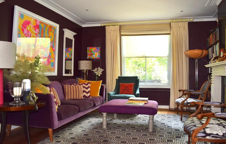 South East London living room