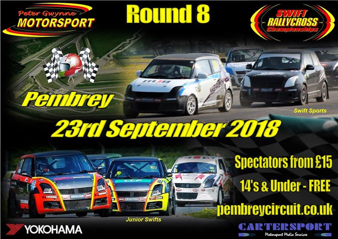 ***ROUND 8 - PEMBREY CIRCUIT - 23rd SEPTEMBER 2018***Join us as the Championships head to Wales for