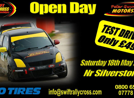 Open Day - 18th May 2019