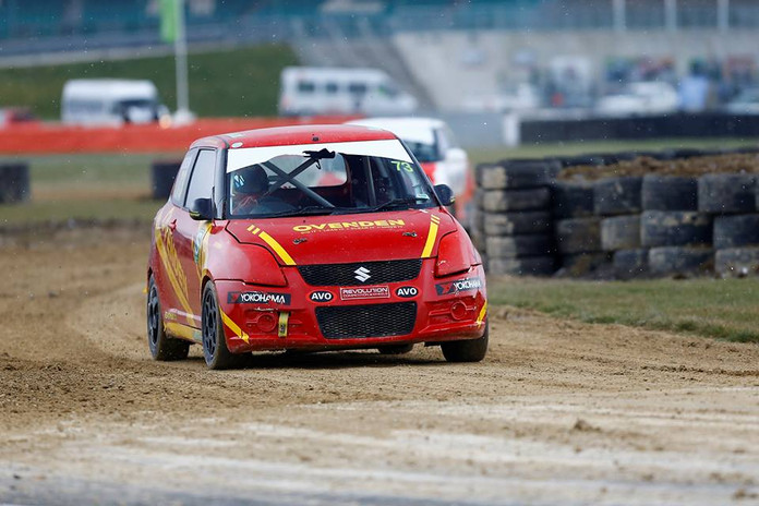 Champion Ovenden Stars at Silverstone