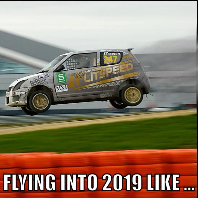FLYING INTO 2019 LIKE...