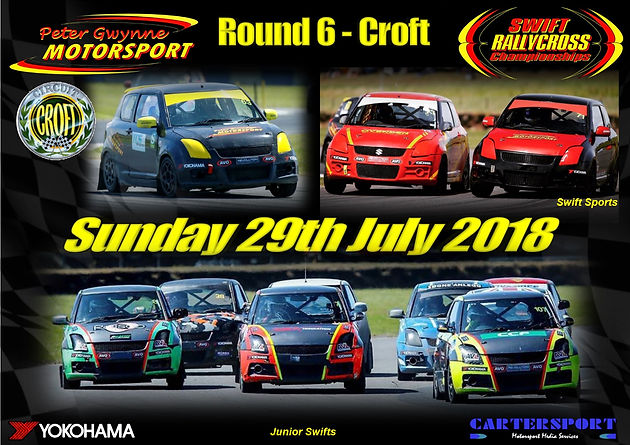 Round Six - Croft Circuit - 29th July 2018 | Swift Rallycross