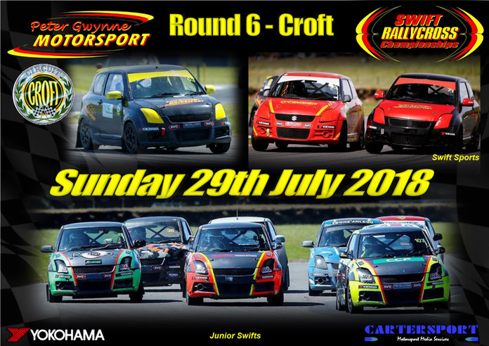 Round Six - Croft Circuit - 29th July 2018