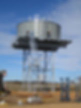 We deal in Bolted Panel Tanks, Grain Silos, Elevated Tanks made of zincalume steel