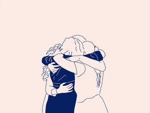 hug your friends