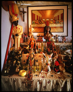 Syncretic Altar-Last Supper
