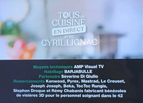 Tous en cuisine, C. Lignac