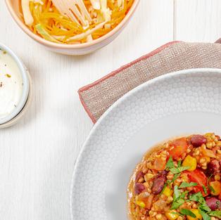 Chili sin carne - sarrasin
