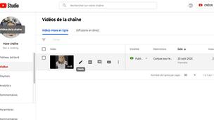 Lancement de ma chaine youtube !