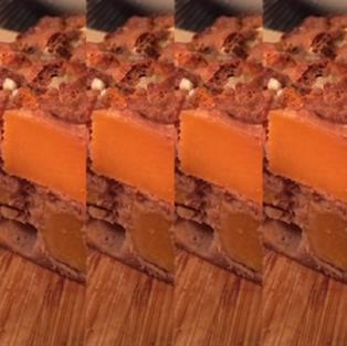 Crumble courge - farine châtaigne