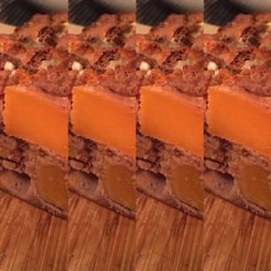 Cake butternut et bleu - farine de châtaigne