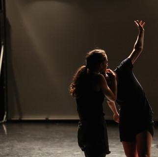 rehearsal during MANCC residency