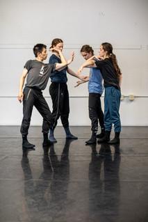 Crossings SF in rehearsal