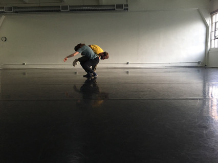 Rehearsal for new work by Tom Weinberger