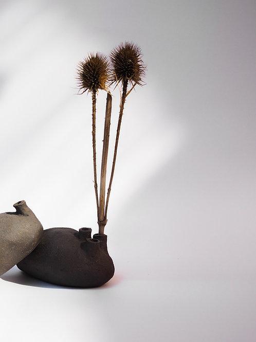 Stoneware Organ Vase