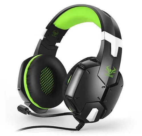 Fone de Ouvido Headset Gamer Verde EJ-901 para Pc - Ps3 - Ps4 - Xbox One -