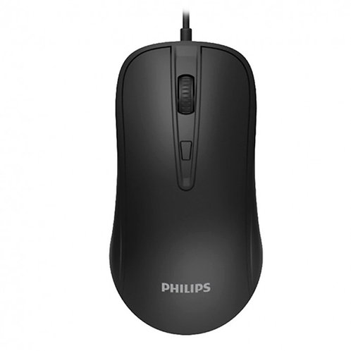 Mouse com fio Philips - M214
