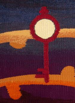 Labyrinth tapestry