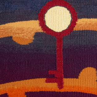 """""""The Key to Labyrinth"""" tapestry"""