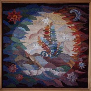 """""""Beginning of Life"""" tapestry"""