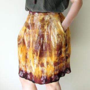 """Tiger Lily"" skirt"