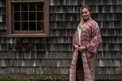 Kimono at the park
