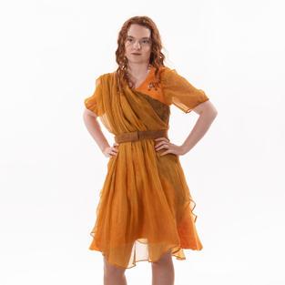 """""""Yellow Lily"""" dress"""