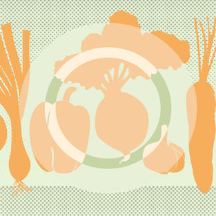"""""""Healthy Plate"""" placemat design"""