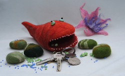 """Toy """"Toothy fish"""""""