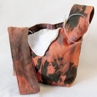 """""""Dark Flame"""" project bag"""