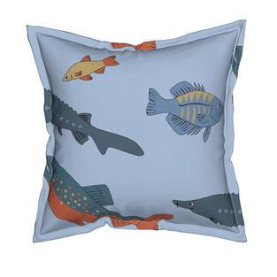"""Summer Fishes"" pattern design"