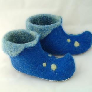 """""""Blue Dwarf"""" shoes"""