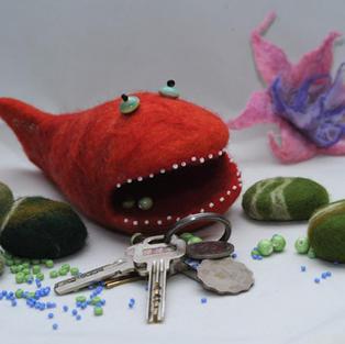 """Nibbler"" fish toy"