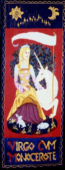 """Lady and unicorn"""
