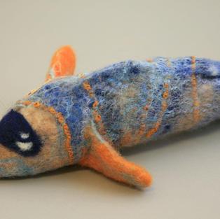 """Grouper"" fish purse"