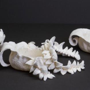 """""""Little Boats"""" soft sculpture"""