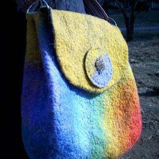 """""""Rainbow Tree"""" bag"""