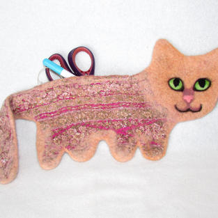 """Toffee"" cat purse"