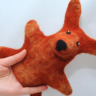 """Foxy Fox"" puppet"