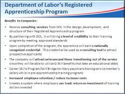 Vocational Career Training paid through GI Bill - Great Opportunity for Veterans