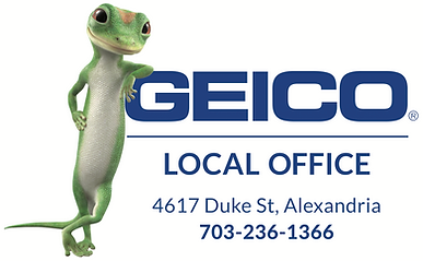 Favorite GEICO Local Office Logo with ad
