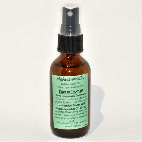 Focus Pocus 2oz Essential Oils Spray