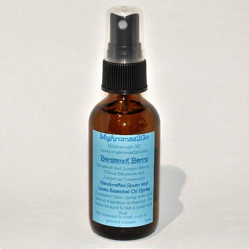 Bergamot Berry 2oz Essential Oils Spray
