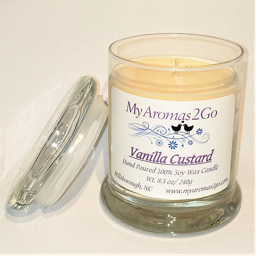 Vanilla Custard 8.5oz Candle